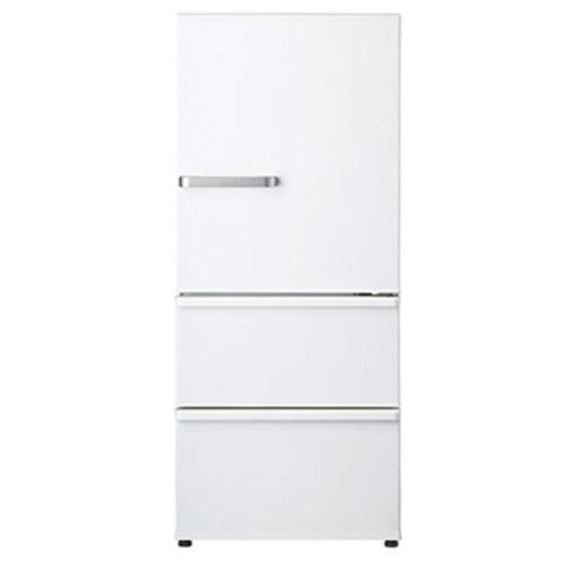 【送料無料】AQUA AQR-27G-W ナチュラルホワイト [冷蔵庫 (272L・右開き)]