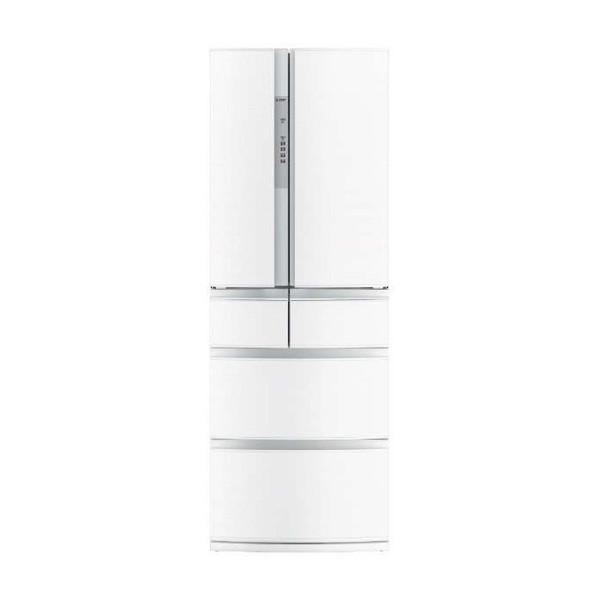 【送料無料】MITSUBISHI MR-RX46C-W クロスホワイト 置けるスマート大容量 RXシリーズ [冷蔵庫(461L・フレンチドア)]
