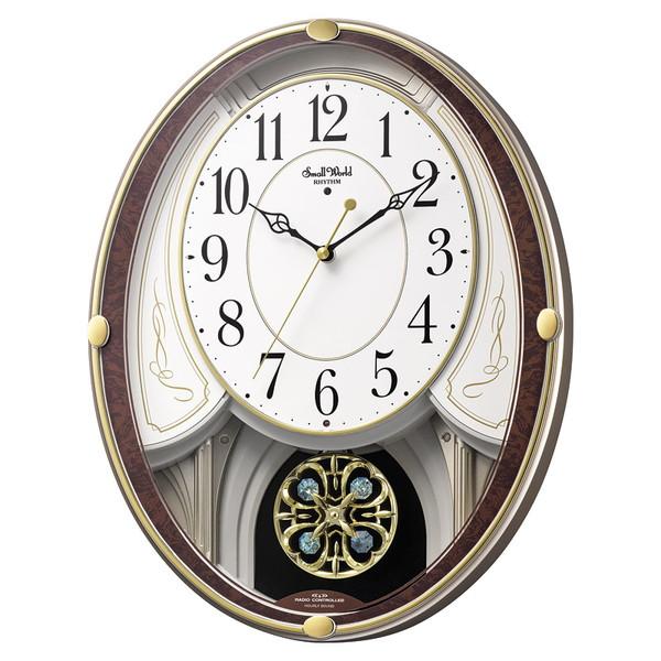 【送料無料】リズム時計工業 スモールワールド セリーナS 4MN549RH23