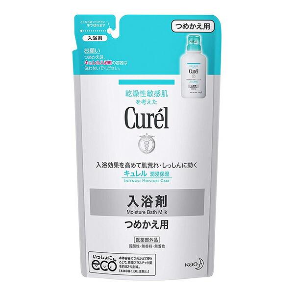 セラミドケア で 外部刺激で肌荒れしにくい 健やかな 潤い高密度肌 に保ちます つめかえ用 花王 安全 360ml お値打ち価格で キュレル 入浴剤