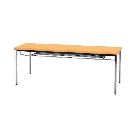 【送料無料】生興 MTS-1845ISP(Pアルダー) テーブル [棚付]【同梱配送不可】【代引き不可】【沖縄・北海道・離島配送不可】