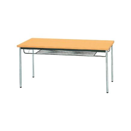 【送料無料】生興 MTS-1575ISP(Pアルダー) テーブル [棚付]【同梱配送不可】【代引き不可】【沖縄・北海道・離島配送不可】