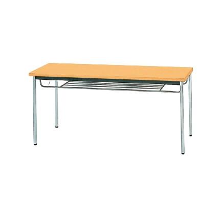 【送料無料】生興 MTS-1560ISP(Pアルダー) テーブル [棚付]【同梱配送不可】【代引き不可】【沖縄・北海道・離島配送不可】