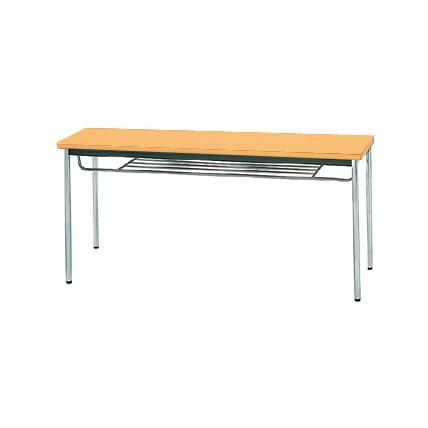 【送料無料】生興 MTS-1545ISP(Pアルダー) テーブル [棚付]【同梱配送不可】【代引き不可】【沖縄・北海道・離島配送不可】