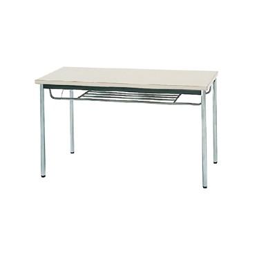 【送料無料】生興 MTS-1260ISG(ニューグレー) テーブル [棚付]【同梱配送不可】【代引き不可】【沖縄・北海道・離島配送不可】