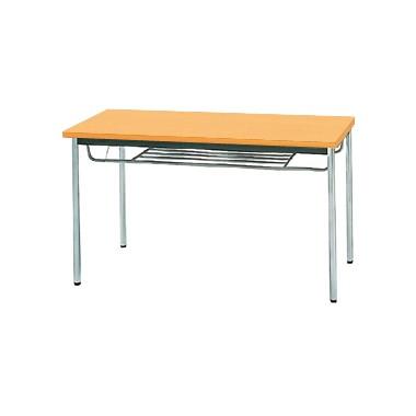 【送料無料】生興 MTS-1260ISP(Pアルダー) テーブル [棚付]【同梱配送不可】【代引き不可】【沖縄・北海道・離島配送不可】