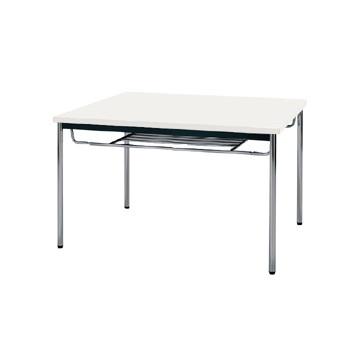 【送料無料】生興 MTS-0990ISW(ホワイト) テーブル [棚付]【同梱配送不可】【代引き不可】【沖縄・北海道・離島配送不可】