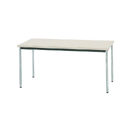 【送料無料】生興 MTS-1575OSG(ニューグレー) テーブル [棚なし]【同梱配送不可】【代引き不可】【沖縄・北海道・離島配送不可】