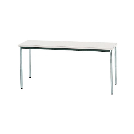【送料無料】生興 MTS-1545OSW(ホワイト) テーブル [棚なし]【同梱配送不可】【代引き不可】【沖縄・北海道・離島配送不可】