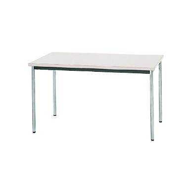 生興 MTS-1275OSW(ホワイト) テーブル [棚なし] 【同梱配送不可】【代引き・後払い決済不可】【沖縄・北海道・離島配送不可】