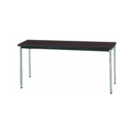 【送料無料】生興 MTS-1545OSD(Dブラウン) テーブル [棚なし]【同梱配送不可】【代引き不可】【沖縄・北海道・離島配送不可】