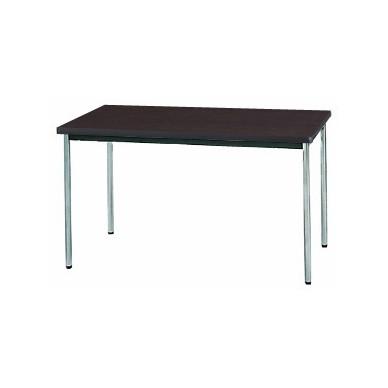 【送料無料】生興 MTS-1275OSD(Dブラウン) テーブル [棚なし]【同梱配送不可】【代引き不可】【沖縄・北海道・離島配送不可】