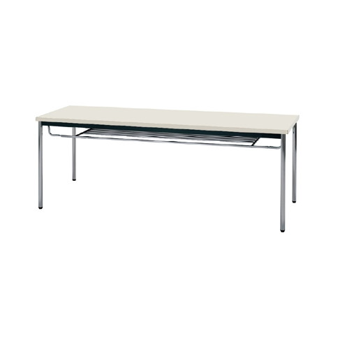 【送料無料】生興 MTS-1860ITG(ニューグレー) テーブル [棚付]【同梱配送不可】【代引き不可】【沖縄・北海道・離島配送不可】