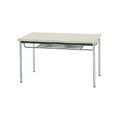【送料無料】生興 MTS-1275ITG(ニューグレー) テーブル [棚付]【同梱配送不可】【代引き不可】【沖縄・北海道・離島配送不可】