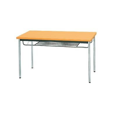 【送料無料】生興 MTS-1275ITP(Pアルダー) テーブル [棚付]【同梱配送不可】【代引き不可】【沖縄・北海道・離島配送不可】