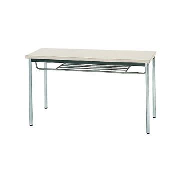 【送料無料】生興 MTS-1245ITG(ニューグレー) テーブル [棚付]【同梱配送不可】【代引き不可】【沖縄・北海道・離島配送不可】