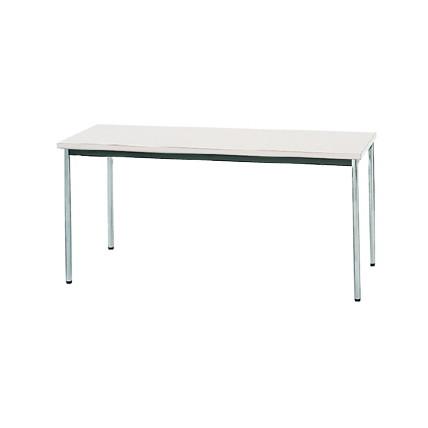 【送料無料】生興 MTS-1560OTW(ホワイト) テーブル [棚なし]【同梱配送不可】【代引き不可】【沖縄・北海道・離島配送不可】