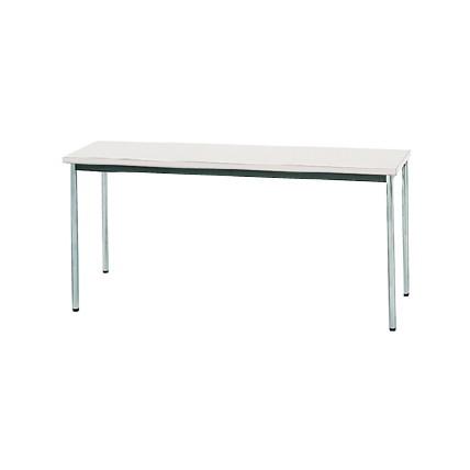 【送料無料】生興 MTS-1545OTW(ホワイト) テーブル [棚なし]【同梱配送不可】【代引き不可】【沖縄・北海道・離島配送不可】