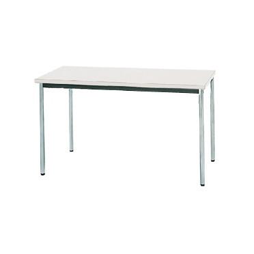 生興 MTS-1260OTW(ホワイト) テーブル [棚なし] 【同梱配送不可】【代引き・後払い決済不可】【沖縄・北海道・離島配送不可】