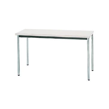 【送料無料】生興 MTS-1245OTW(ホワイト) テーブル [棚なし]【同梱配送不可】【代引き不可】【沖縄・北海道・離島配送不可】