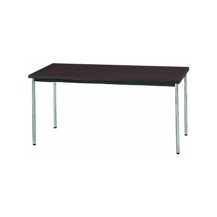 生興 MTS-1575OTD(Dブラウン) テーブル [棚なし] 【同梱配送不可】【代引き・後払い決済不可】【沖縄・北海道・離島配送不可】