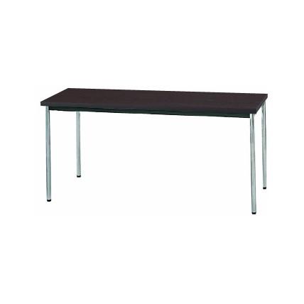 【送料無料】生興 MTS-1560OTD(Dブラウン) テーブル [棚なし]【同梱配送不可】【代引き不可】【沖縄・北海道・離島配送不可】
