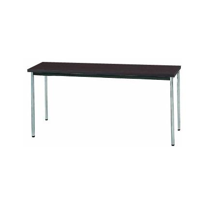 【送料無料】生興 MTS-1545OTD(Dブラウン) テーブル [棚なし]【同梱配送不可】【代引き不可】【沖縄・北海道・離島配送不可】