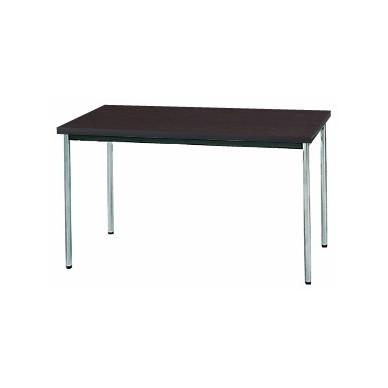 【送料無料】生興 MTS-1275OTD(Dブラウン) テーブル [棚なし]【同梱配送不可】【代引き不可】【沖縄・北海道・離島配送不可】