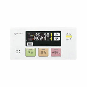 NORITZ RC-7507S-3 [ガス給湯器専用浴室リモコン]