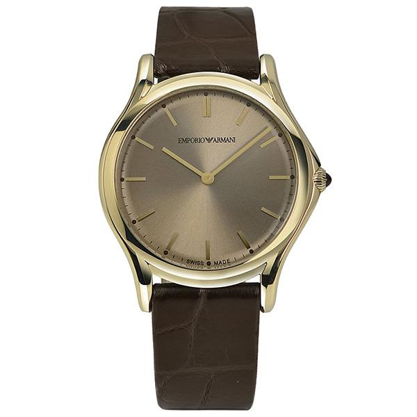 【送料無料】EMPORIO ARMANI ARS2004 ブロンズ×ダークブラウン [クォーツ腕時計(ユニセックス)] 【並行輸入品】