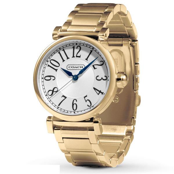 【送料無料】COACH 14501720 シルバー×ゴールド New Madison(ニューマディソン) [クォーツ腕時計(レディース)] 【並行輸入品】