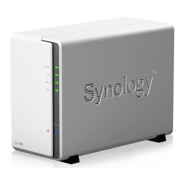 【送料無料】Synology DS218j DiskStation [2ベイオールインワンNASキット]
