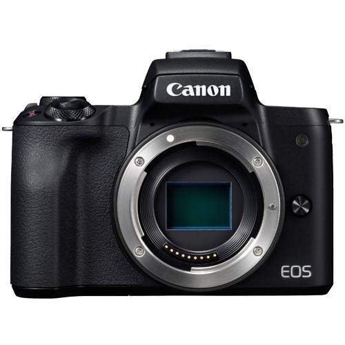 【送料無料】CANON EOS Kiss M ボディ ブラック [ミラーレス一眼カメラ(2410万画素)]