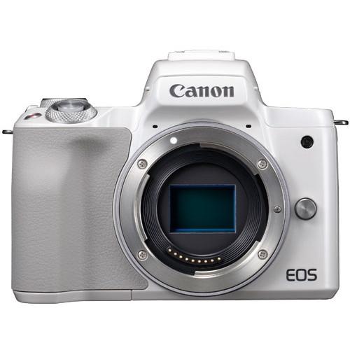 CANON EOS Kiss M ボディ ホワイト [ミラーレス一眼カメラ(2410万画素)]