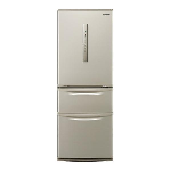 【送料無料】PANASONIC NR-C32HM-N シルキーゴールド [冷蔵庫(315L・右開き)] 【代引き・後払い決済不可】【離島配送不可】