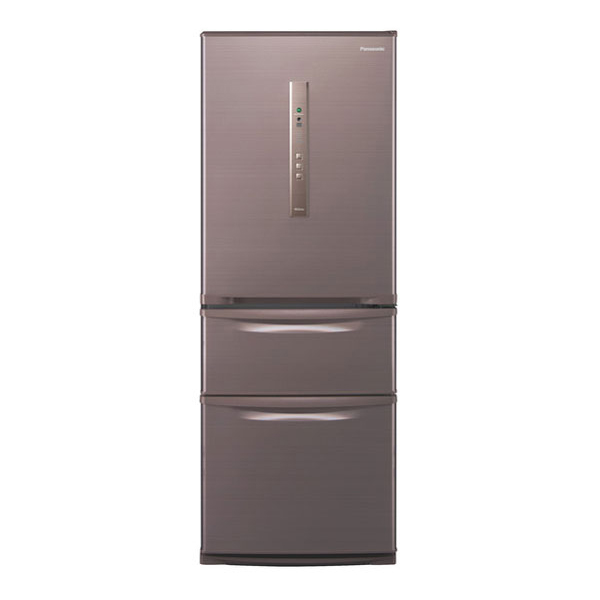 【送料無料】PANASONIC NR-C32HM-T シルキーブラウン [冷蔵庫(315L・右開き)]
