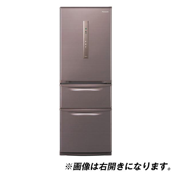 【送料無料】PANASONIC NR-C32HML-T シルキーブラウン [冷蔵庫(315L・左開き)]