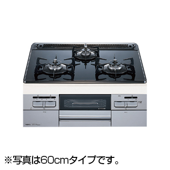【送料無料】NORITZ N3WQ7RWASSI-13A Fami オートタイプ [ビルトインガスコンロ (都市ガス用・左右強火力・幅75cm)]