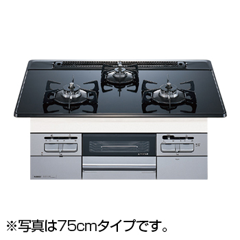 【送料無料】NORITZ N3WQ6RWTSSI-LP Fami スタンダードタイプ [ビルトインガスコンロ (プロパンガス用・左右強火力・幅60cm)]