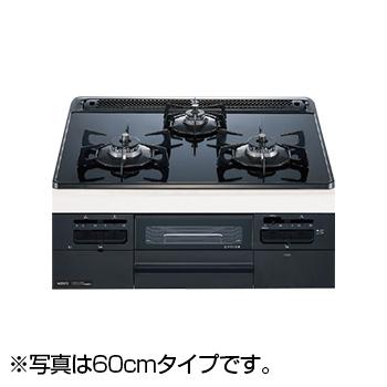 【送料無料】NORITZ N3WQ7RWTS-13A Fami スタンダードタイプ [ビルトインガスコンロ (都市ガス用・左右強火力・幅75cm)]