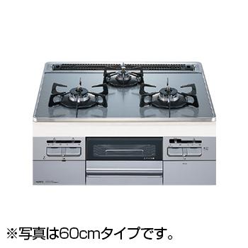 【送料無料】NORITZ N3WQ7RWTS6SI-LP Fami スタンダードタイプ [ビルトインガスコンロ (プロパンガス用・左右強火力・幅75cm)]