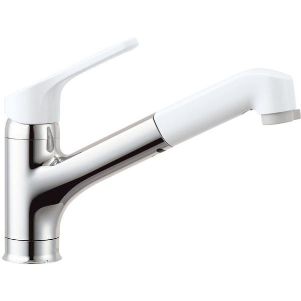 【送料無料】INAX RSF-832YN [キッチン用ワンホールシングルレバー混合水栓(エコハンドル・ハンドシャワー付き・凍結防止水抜き)]