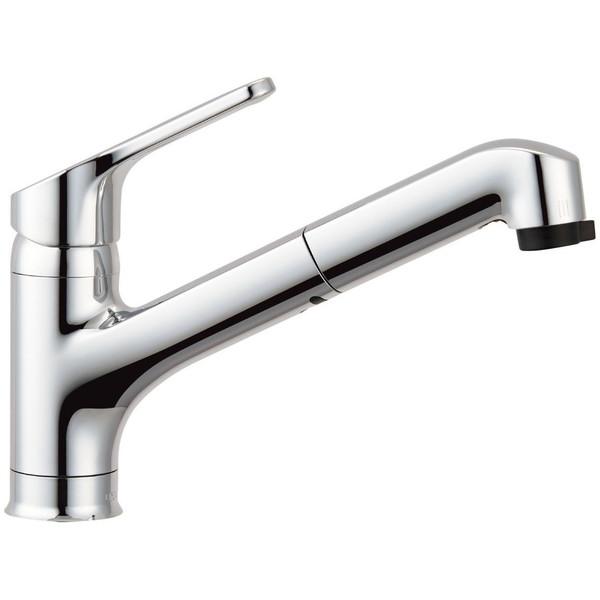 【送料無料】INAX RSF-833Y [キッチン用ワンホールシングルレバー混合水栓(エコハンドル・ハンドシャワー付き)]