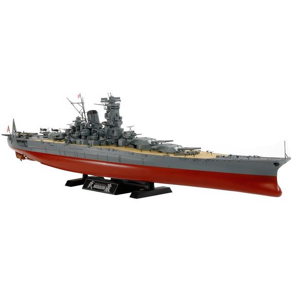 タミヤ 78031 1 絶品 オープニング 大放出セール 350 武蔵 2013 日本海軍戦艦