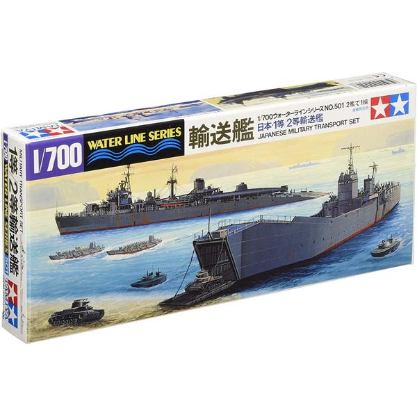 タミヤ 31501 WL 501 1 大注目 1等 日本海軍 2等輸送艦 超美品再入荷品質至上 700