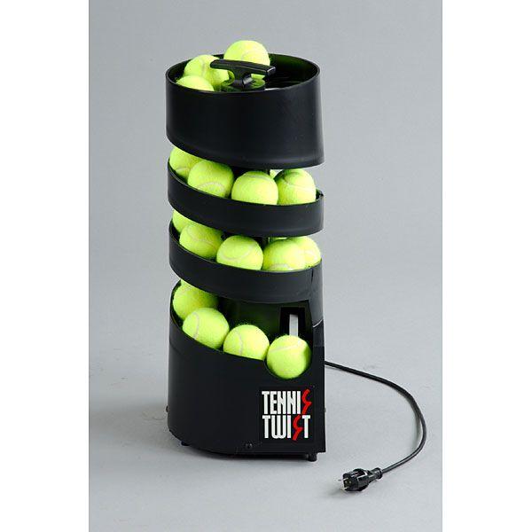 【送料無料】テニス ボール出し機 コンパクト Tennis Tutor AP-TM-AC-DC トスマシン テニスマシン(ツイストAC/DC共用タイプ・単一電池6個または100VのAC電源使用)テニス用品 球出し 練習 軽量 【同梱配送不可】【代引き・後払い決済不可】【沖縄・北海道・離島配送不可】