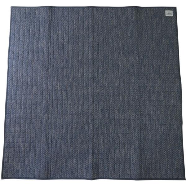 【送料無料】スミノエ 11748729 洗える ラグ リネンミスト 185×240cm ブルー