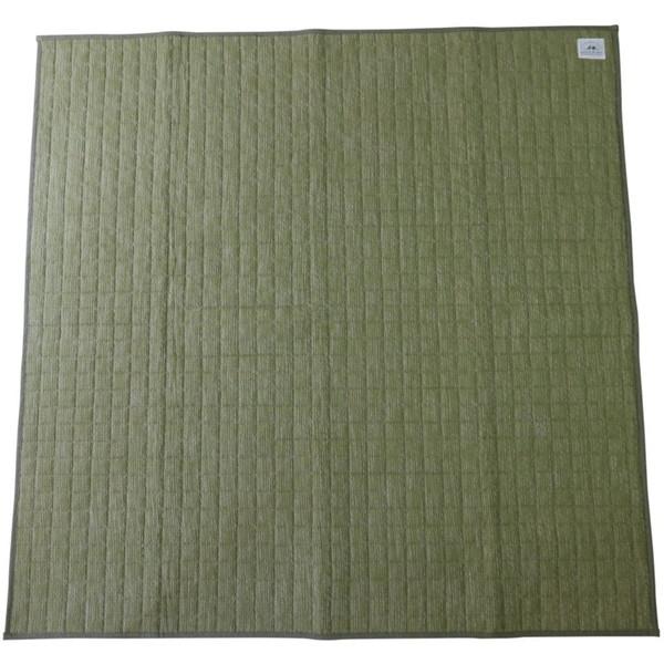 スミノエ 11748729 洗える ラグ リネンミスト 185×240cm グリーン