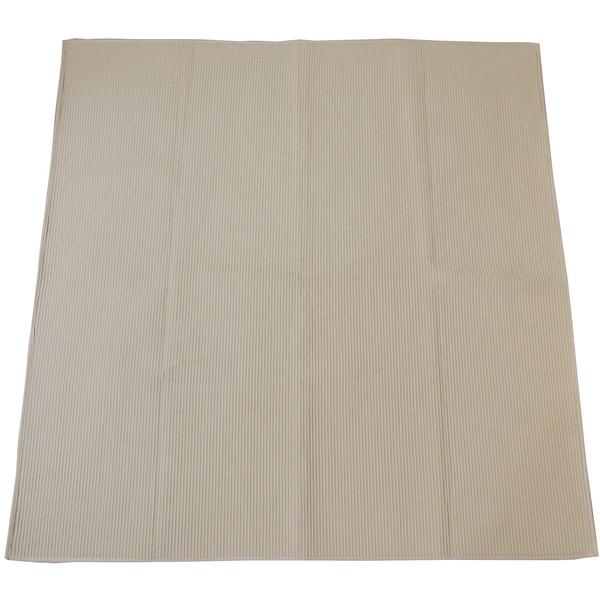 スミノエ 11748656 洗える ラグ コットンドロップ 185×240cm ベージュ