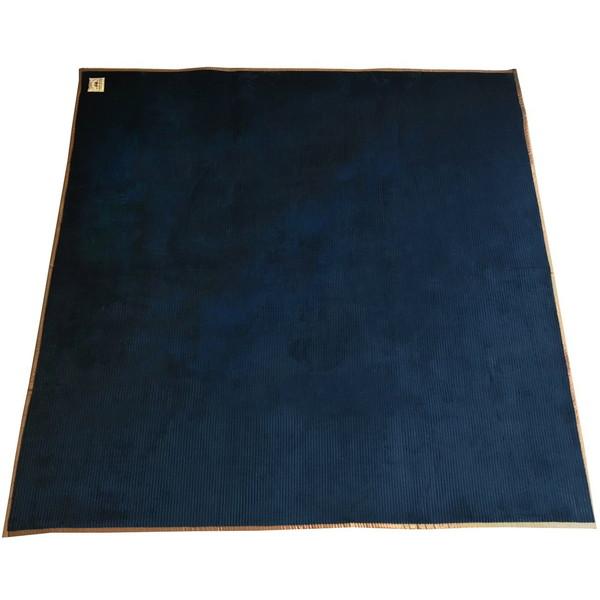 【送料無料】スミノエ 11749962 洗える ラグ グルーヴ 185×240cm ネイビー